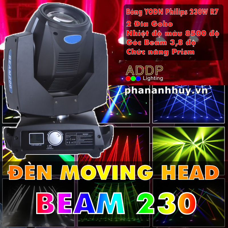 ĐÈN MOVING BEAM AQS 230