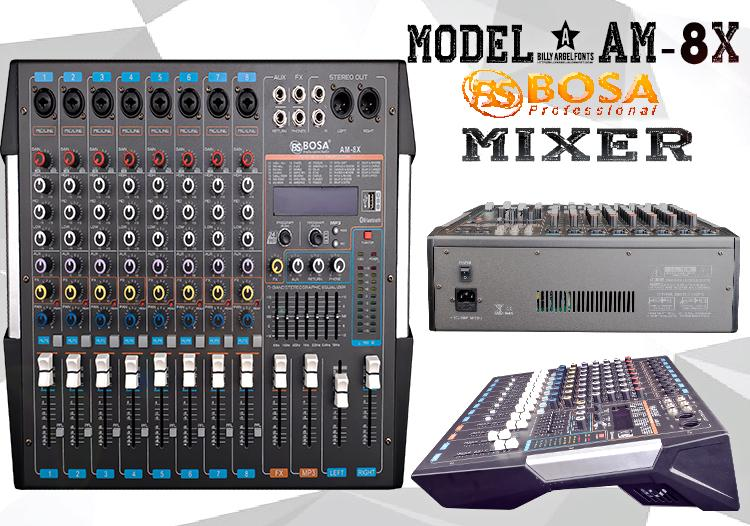 Mixer Bàn BoSa AM-8X
